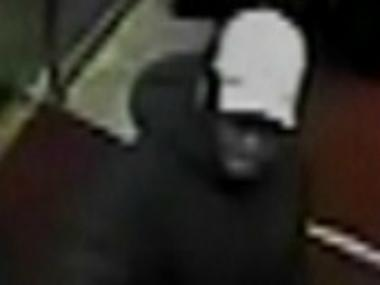 Police are searching for a man suspected of robbing a man with an ice pick near Central Park on Weds., May 3, 2012.