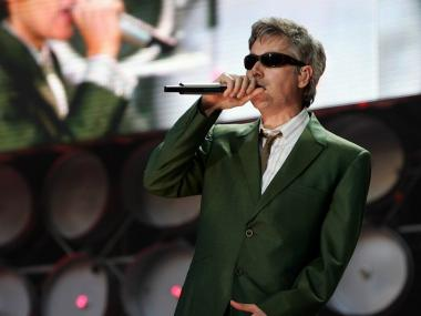 Adam Yauch of the Beastie Boys performs on stage during the Live Earth concert held at Wembley Stadium on July 7, 2007 in London.