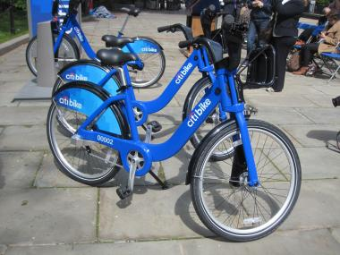 Meet the new citibike, which will be hitting the streets this summer as part of the new bike share program.