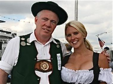 German dress is encouraged at this weekend's Maifest on the Hudson.