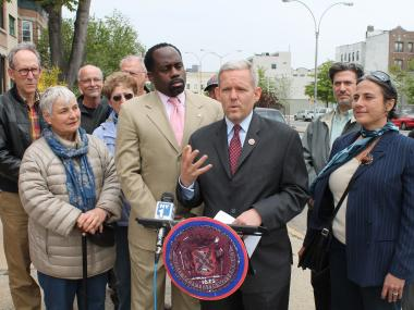 """It's really important that we keep Long Island City green and make it even greener,"