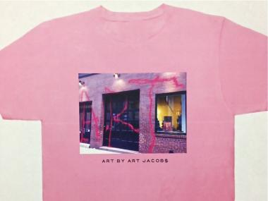 Shirts with a photo of the Mercer Street Marc Jacobs store that was vandalized May 8, 2012 went on sale May 11.