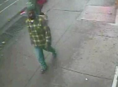 A photo of a man suspected in the mugging of a 90-year-old woman.
