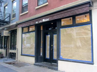 The Hudson Street restaurant Out of the Kitchen abruptly closed in May 2012.
