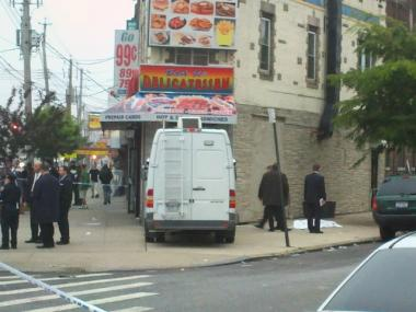 A man was shot in the head Tuesday on Flatbush Avenue and East 36th Street, fire officials said.