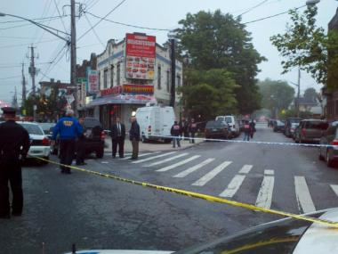A man was shot in the head and killed Tuesday on Flatbush Avenue and East 36th Street, officials and witnesses said.