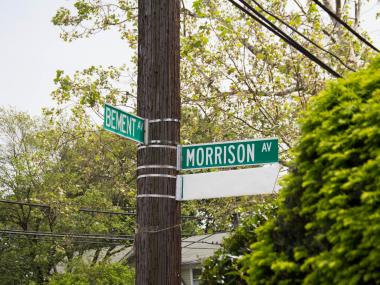 Morrison and Bement avenues will be renamed