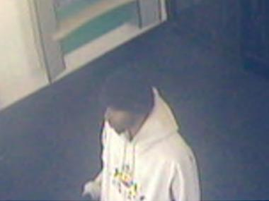 A man suspected in two Brooklyn bank robberies that took place April 5, and April 28, 2012.