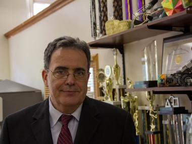 Staten Technical High School principal Vincent Maniscalco has been principal of the specialized New Dorp high school for 11 years.