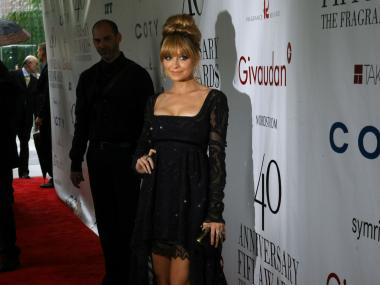 Nicole Richie in Emilio Pucci at the 2012 FiFi Fragrance Awards at Lincoln Center's Alice Tully Hall Monday, May 21, 2012.