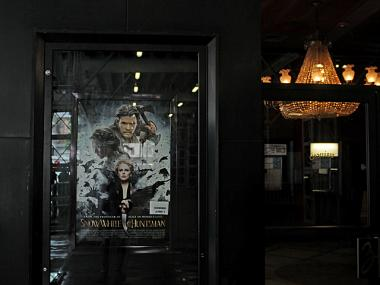 "The theater will reopen on June 1 when it will show ""Snow White and the Huntsman."""