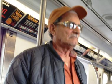 Police say a 60 to 70-year-old man committed lewd acts inside two Bronx subway cars in May.