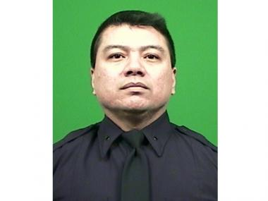 P.O. Alain Schaberger, who was killed in the line of duty on March 13, 2011, when George Villanueva shoved him off a stoop into a stairwell, breaking the officer's neck.