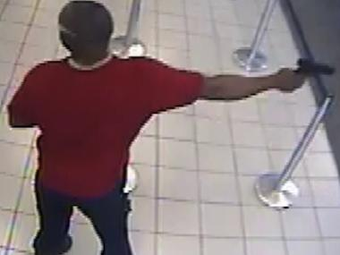 A suspect police say was involved in a robbery at 1388 Pennsylvania Ave. in Brooklyn, NY on May 19, 2012.