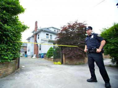Cops investigated the attempted murder-suicide on May 23, 2012.