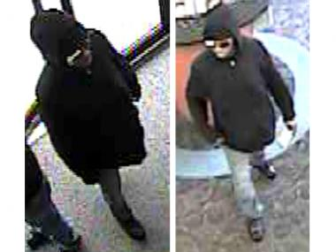 The man pictured here allegedly robbed the Northfield Bank branch at 325 Bay Street in Stapleton on Tuesday, May 1, police said.