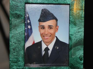 Air Force Veteran Fabian Gonzalez, 21, was shot dead in East Tremont early Saturday.