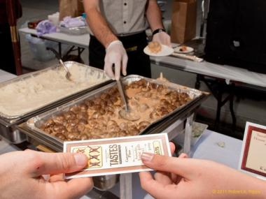 Ticketholders can try up to six samples from the city's top chefs at Tastes NYC.