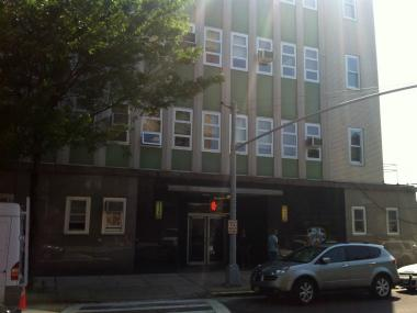 The 112th Precinct, at 68-40 Austin St. in Queens. The precinct has seen a 176-percent increase in crime in the last year.