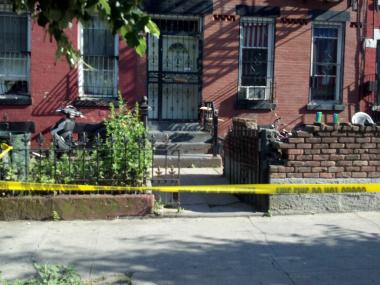 A 10-year-old girl was shot in the leg outside 158 Hull St. on Thursday, May 31, 2012.