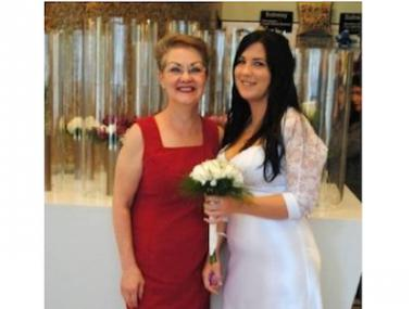 Ellen Luckey, 58, (L), who perished in a fire on June 1, 2012, that broke out in her apartment at 147 Conselyea Street.