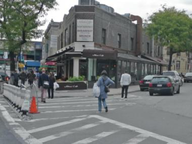 The intersection of Newtown Avenue near 33rd Street has been considered dangerous for a long time, officials say.