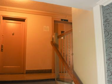 The elevator in the lobby at 2056 Cropsey Avenue in Brooklyn on Monday June 4th, 2012.