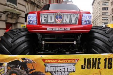 The FDNY unveiled its new monster truck on June 5, 2012.