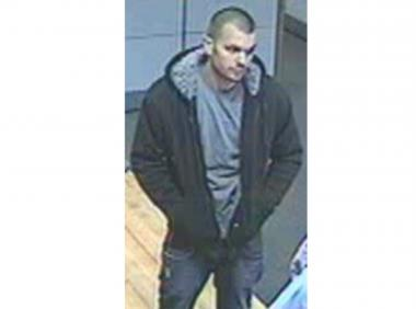 The NYPD released a photo on June 6, 2012, of a suspect who allegedly robbed a bank in Flatlands.