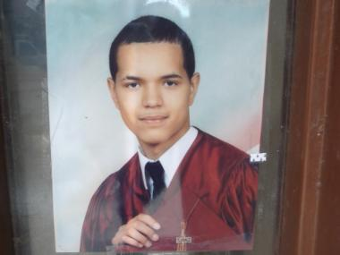 Franklyn Hernandez, 17, who was allegedly struck and killed by an SUV driven by his girlfriend on June 6, 2012.