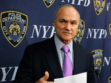NYPD Police Commissioner Raymond Kelly criticizes local community leaders for being