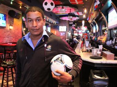 Randolph Hernandez from sports bar Tonic said he dreamed about soccer last night.