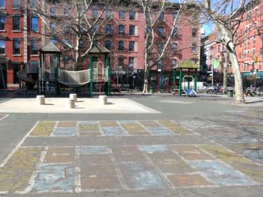 Parents are pushing for the renovation of the playground at Spring and Mulberry streets.