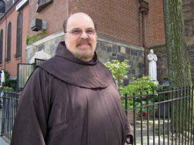 "Father Joe Lorenzo of the Shrine Church of St. Anthony of Padua evoked the ""Godfather"" movies, his favorites, to explain the Feast of St. Anthony street procession."