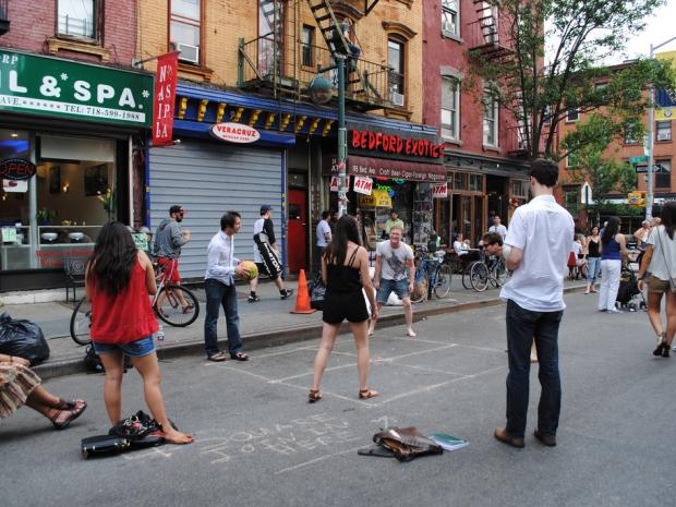 Vendors on Bedford Avenue have received multiple summonses in the past few weeks, cops said.