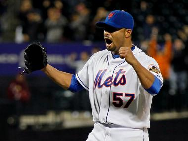 Johan Santana pitched the Mets' first no-hitter in the team's history at Citi Field on June 1, 2012.