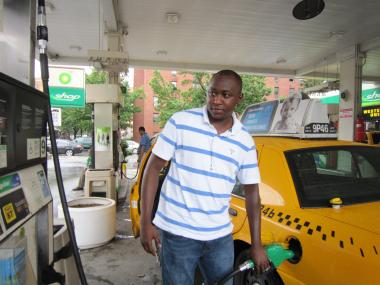 "Sanusi Bah, a cab drivery for three years, said he would be sad to see the station close Tuesday as he filled his tank with gas that cost $4.23 per gallon. ""I always put gas in here because the service and the workers are good. ,"" said Bah who said he had come from further downtown just to fill up at the station."