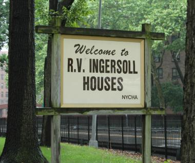 The Ingersoll Houses in Fort Greene.