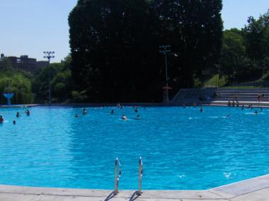 A woman said she was groped while swimming at Lasker Pool on Wednesday and got treated poorly by lifeguards and other swimmers for reporting it.