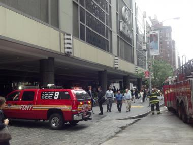 An incident in the electrical room at the Hilton Hotel brought fire crews to the Sixth Avenue location shortly after 1 p.m. on Wednesday, June 13, 2012.