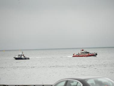 Firefighters pulled the body of a woman from the waters off Fort Totten on August 7, 2012.