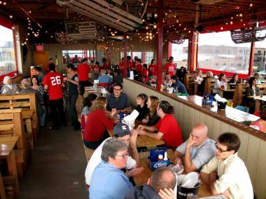 Brooklyn Crab seats about 240 people, owner Jamie Vipon said.