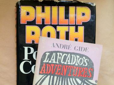 Ian Rosenberg will be parting with his own copies of Lafcadio's Adventure and Portnoy's Complaint to sell for the fundraiser.