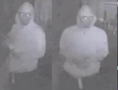 Images of men suspected in spray painting swastikas on various Borough Park buildings June 15, 2012.