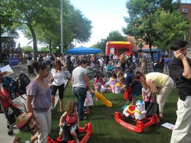 The 78th Street Jackson Heights playstreet will have its official launch party on June 23rd, from 4-8pm.