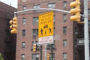 The scavenger hunt will point out several safety issues along Queens Boulevard.
