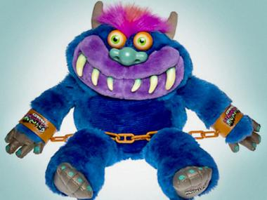 "Jeremy Scott posted a picture of ""My Pet Monster"" on Twitter, saying this was his inspiration for the Adidas sneakers he designed."