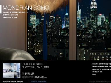 A swingers party at the Mondrian Hotel in SoHo was broken up on June 16, 2012