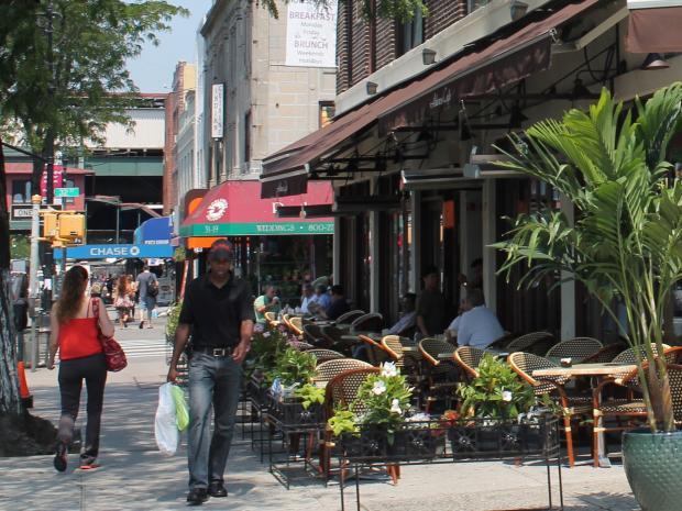 Park Slope Sidewalk Cafes