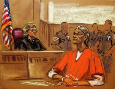 Serial killer Rodney Alcala arraigned in Manhattan Supreme Court on June 21, 2012